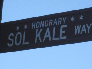 Honorary Sol Kale Way