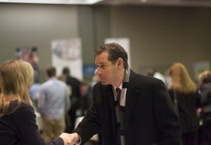 Networking and career events is a good place to learn more about a career in real estate sales